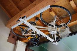 modern Garage/shed by flat-bike-lift