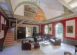 königl. Jagdhaus : klassische Wohnzimmer von Wandmalerei & Oberflächenveredelungen