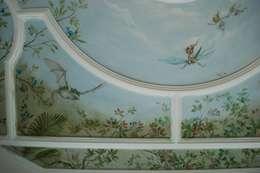 Feendecke: ausgefallene Wohnzimmer von Wandmalerei & Oberflächenveredelungen