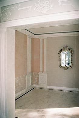 Gro e gef hle wohntr ume im romantik look for Innenraumgestaltung wohnzimmer