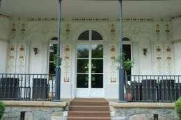 Terrasse - Wandmalerei:  Terrasse von Wandmalerei & Oberflächenveredelungen