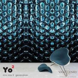 Murs & Sols de style de style eclectique par vanHenry interiors & colours