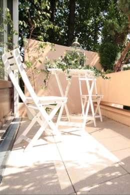 Terrasse de style  par Home Staging Cornelia Reichel
