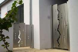 modern Garden by Edelstahl Atelier Crouse - Stainless Steel Atelier