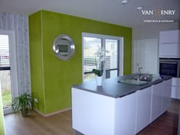 مطبخ تنفيذ vanHenry interiors & colours