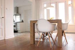 Eetkamer en keuken: scandinavische Keuken door Evelyne Ontwerp