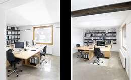Projekty,  Domowe biuro i gabinet zaprojektowane przez [lu:p] Architektur GmbH
