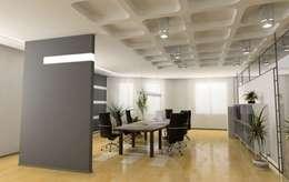 Thomas & Co Interior Design GmbH의  서재 & 사무실