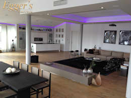 jetzt gibt´s was auf die decke! - moderne strukturen und ... - Moderne Deckenverkleidung Wohnzimmer
