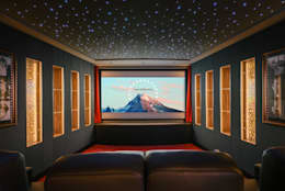 classic Media room by raumdeuter GbR