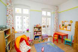 Chambre d'enfant de style de style eclectique par raumdeuter GbR