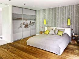 Innenarchitektur Berlin: modern tarz Yatak Odası