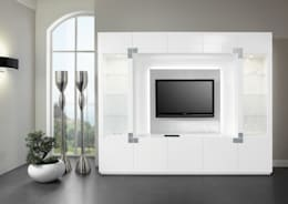 die schrankwand ein moderner klassiker. Black Bedroom Furniture Sets. Home Design Ideas