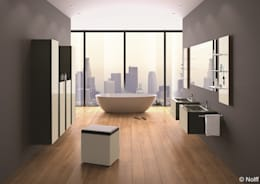 浴室 by Die Tischlerei Hauschildt