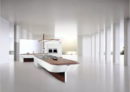 Cucina in stile in stile Eclettico di ALNO AG