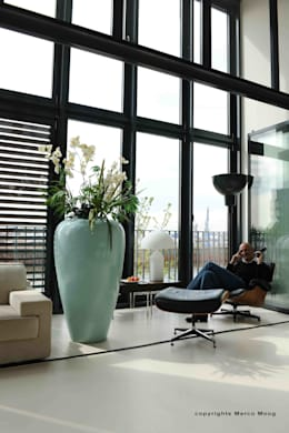 Murs de style  par Andras Koos Architectural Interior Design