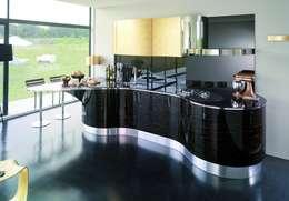 Cozinhas modernas por Küchengaleria Oßwald GmbH