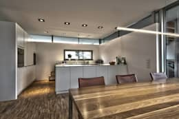 Einfamilienhaus KU09 vor der Alb: moderne Küche von Schiller Architektur BDA