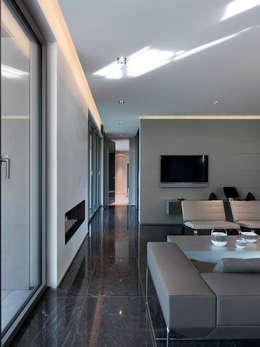 Livings de estilo moderno por LEICHT Küchen AG