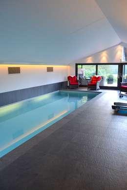 modern Zwembad door RON Stappenbelt, Interiordesign