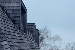 villa aan het spaarne: landelijke Huizen door derksen|windt architecten