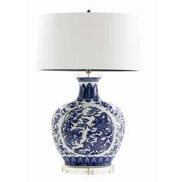 """Arteriors """"Dragon"""" Lamp 47824-234: asiatische Wohnzimmer von Sweets & Spices Dekoration und Möbel"""