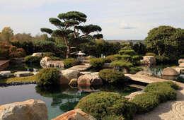 Japangarten in der Nähe von Leipzig: asiatischer Garten von Kirchner Garten + Teich GmbH
