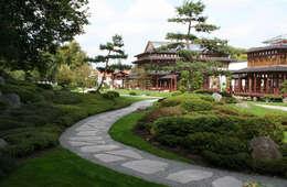 aziatische Tuin door Kirchner Garten + Teich GmbH