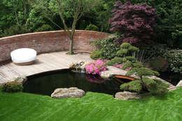 Projekty,  Ogród zaprojektowane przez Kirchner Garten + Teich GmbH