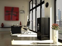 modern Study/office by Stockinger Bespoke Safes