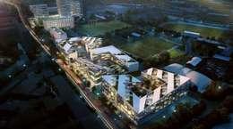 Projekty,  Centra handlowe zaprojektowane przez Moritz Gruppe GmbH