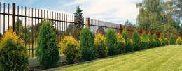 Classic: moderner Garten von Triumph-Zaunsysteme