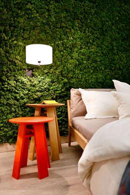 Wandgestaltung Green:  Raumbegrünung von Freund  GmbH