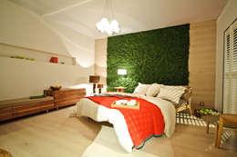 Paisajismo de interiores de estilo  por Freund  GmbH