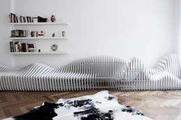 Salas/Recibidores de estilo  por Hackenbroich Architekten