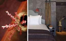 Hotel Cordée des Alpes : landhausstil Schlafzimmer von c+c interiors berlin