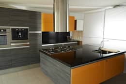 modern Kitchen by Aura Cocinas
