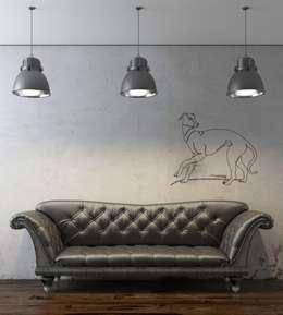 Design. Nachhaltig. Gut.: modern tarz Duvar & Zemin