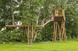 Casas de estilo ecléctico por Andreas Wenning dipl.-ing. Architekt