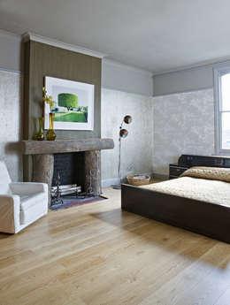 Murs & Sols de style de style Rustique par LIGNUM Möbelmanufaktur