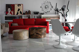 DECORACION CONTEMPORANEA: Salones de estilo  de chus