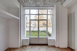 BOX 117 - Schlafzimmer: industriale Schlafzimmer von marc benjamin drewes ARCHITEKTUREN