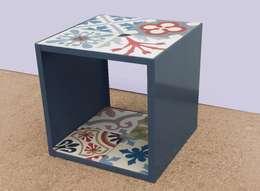 Wände & Boden von Crafted Tiles