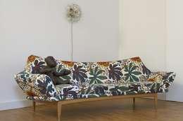 Salon de style de style Tropical par Conni Kotte Interior