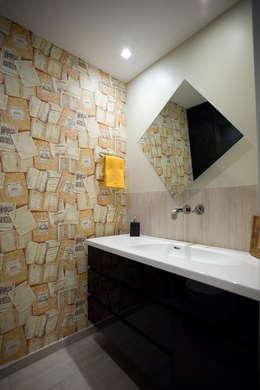 Vivienda en Granallores: Baños de estilo rústico de Silvia R. Mallafré