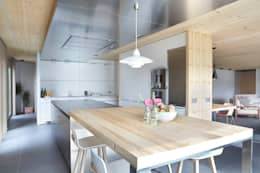 scandinavian Kitchen by Coblonal Arquitectura
