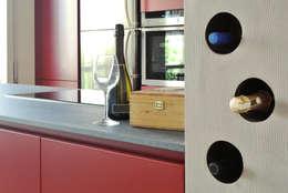 cantina: Sala da pranzo in stile in stile Industriale di CAFElab studio