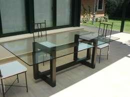 Mesas de cristal: un material, infinitas posibilidades