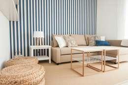 mediterranean Living room by Marta Sellarès - Interiorista