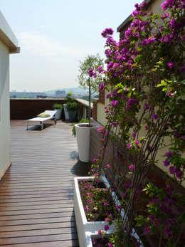 Terrasse von Taller de Paisatge